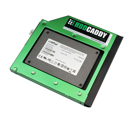 HDD Caddy with Crucial SDD