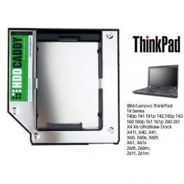 ThinkPad T4 T40 T41 T42 T43 T60 T61 Z60 X60 X40 HDD Caddy