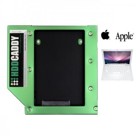 HDD Caddy for Early & Mid 2009 white (non-unibody) Macbook