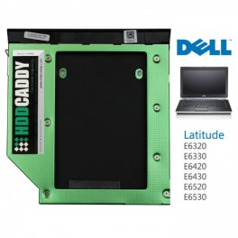 HDD Caddy voor Dell Latitude E6320 E6420 E6520 E6330 E6430 E6530