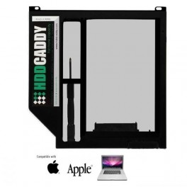 HDD Caddy voor Macbook Pro 13, 15, 17 inch Unibody