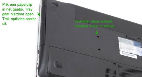 how-to dvd-speler verwijderen asus