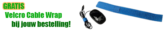 gratis cable wrap bij hdd caddy bestelling